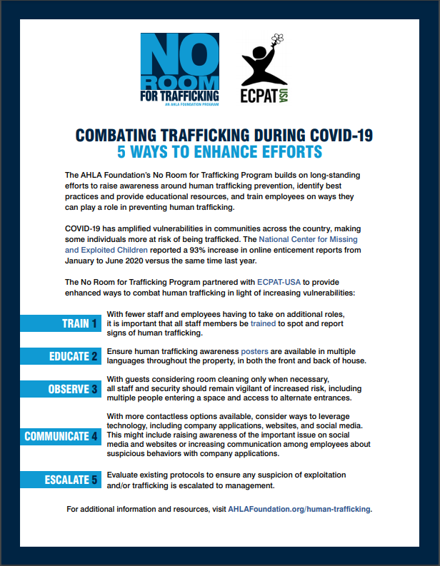 5 Ways to Fight Trafficking