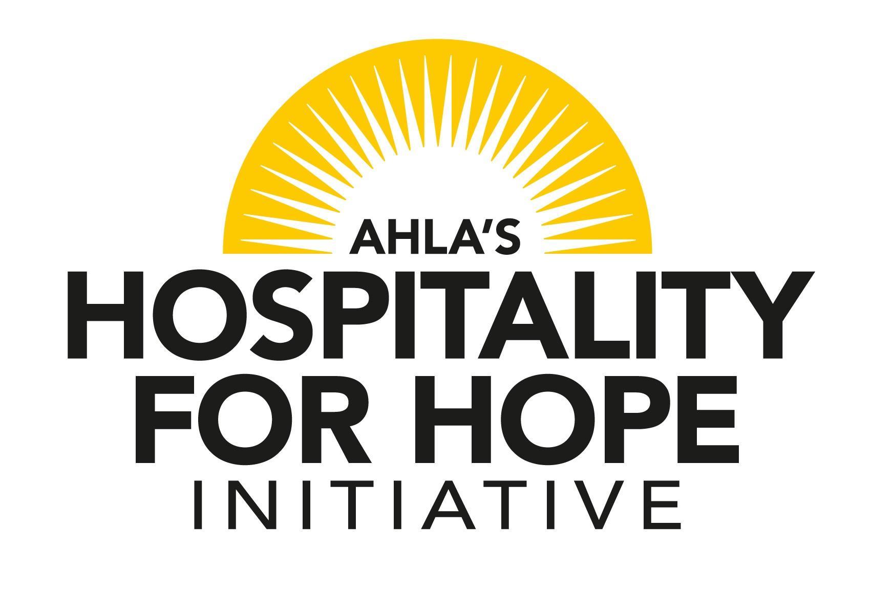 AHLA's Hospitality for Hope Initiative Logo
